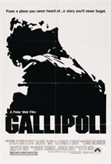 Gallipoli Movie Poster