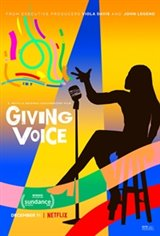 Giving Voice Large Poster