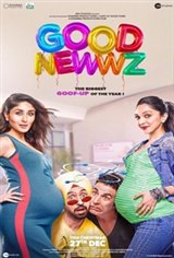 Good Newwz (Hindi) Movie Poster