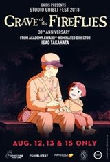 Grave of the Fireflies - Studio Ghibli Fest 2018 Movie Poster