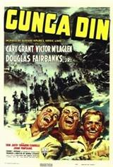 Gunga Din (1939) Movie Poster