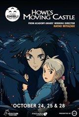Howl's Moving Castle - Studio Ghibli Fest 2021 Movie Poster