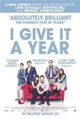 I Give it a Year Large Poster