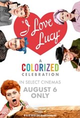 I Love Lucy: A Colorized Celebration Movie Poster