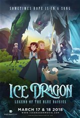 Ice Dragon: Legend of the Blue Daisies (Original) Large Poster