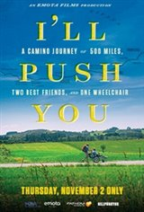 I'll Push You: A Real-Life Inspiration Large Poster