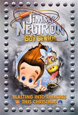 Jimmy Neutron: Boy Genius Movie Poster