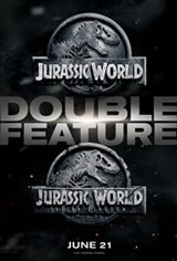 Jurassic World Double Feature 3D Movie Poster