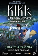 Kiki's Delivery Service - Studio Ghibli Fest 2018 Movie Poster