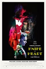 Knife + Heart Large Poster