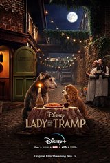 Lady and the Tramp (Disney+) Movie Poster