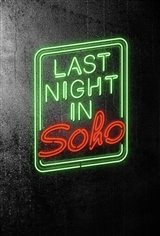 Last Night in Soho Large Poster