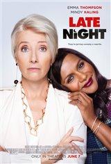 Late Night Movie Poster