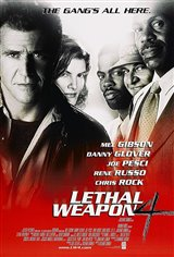 Lethal Weapon 4 Movie Poster