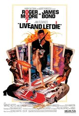 Live and Let Die Large Poster