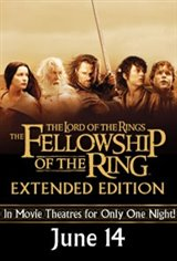 Lord of the Rings: The Fellowship of the Ring - Extended Edition Event Movie Poster