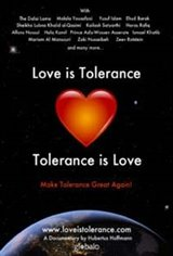 Love is Tolerance Large Poster