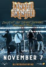 Lynyrd Skynyrd: Last of the Street Survivors Farewell Tour Large Poster