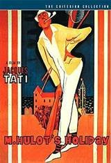 M. Hulot's Holiday Movie Poster