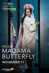 Madama Butterfly: 2020 Met Opera Encore Movie Poster
