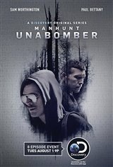 Manhunt: Unabomber Movie Poster