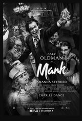 Mank Movie Poster