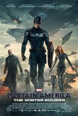 Marvel Studios 10th: Captain America: The Winter Soldier (IMAX 3D) Movie Poster