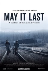 May it Last: A Portrait of the Avett Brothers Movie Poster