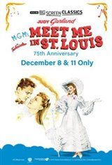 Meet Me in St. Louis 75th Anniversary (1944) presented by TCM Movie Poster