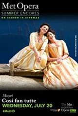 Met Summer Encore: Cosi Fan Tutte Movie Poster
