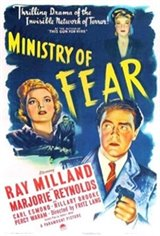Ministry of Fear Movie Poster