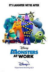 Monsters at Work (Disney+) Movie Poster
