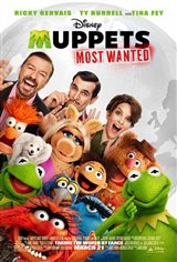 Muppets Most Wanted Movie Poster