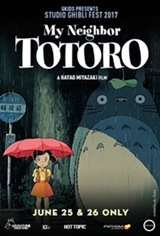 My Neighbor Totoro - Studio Ghibli Fest 2017 Movie Poster