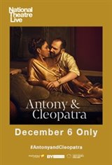 National Theatre Live: Antony & Cleopatra Movie Poster