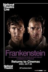 National Theatre Live: Frankenstein (Cumberbatch as Creature) Movie Poster