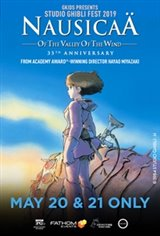 Nausicaä of the Valley of the Wind - Studio Ghibli Fest 2019 Large Poster