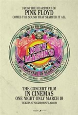 Nick Mason's Saucerful of Secrets: Live at the Roundhouse Large Poster