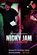 Nicky Jam: El Ganador (Netflix) Movie Poster