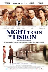 Night Train to Lisbon Movie Poster