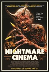 Nightmare Cinema Large Poster