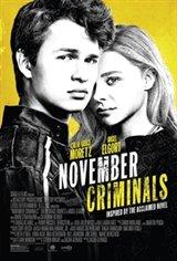 November Criminals Large Poster