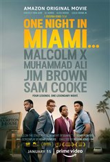 One Night in Miami... (Amazon Prime Video) Movie Poster