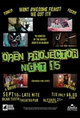 Open Projector Night Movie Poster