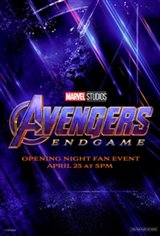 Opening Night Fan Event - Avengers: Endgame Movie Poster