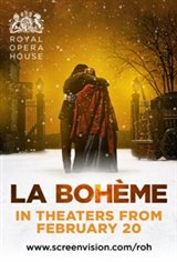 "Opera in Cinema: Royal Opera House's ""La Boheme"" Movie Poster"