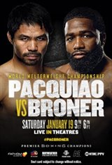 Pacquiao vs. Broner Movie Poster