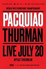Pacquiao vs Thurman Large Poster