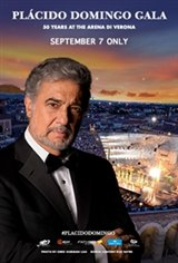 Plácido Domingo 50th Anniversary Gala Evening Movie Poster