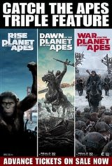 Planet of the Apes Triple Feature Movie Poster